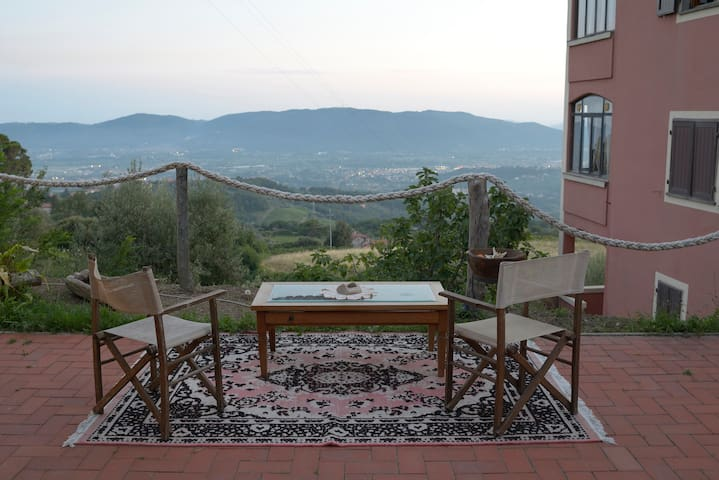 Monoloacale in collina vista mare - Fosdinovo - Appartement