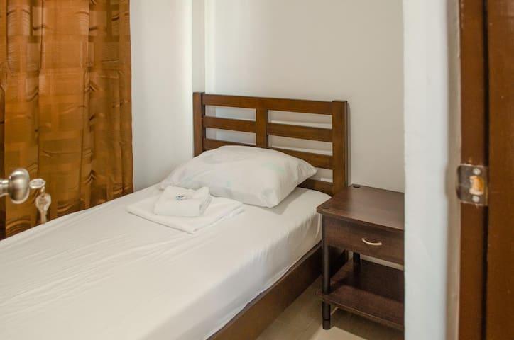 Level 1 bedroom.
