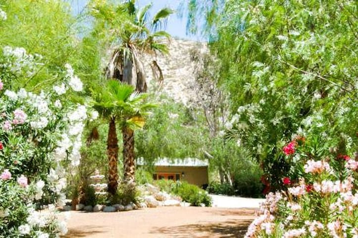 Peaceful Cottage at the Garden Oasis - Morongo Valley