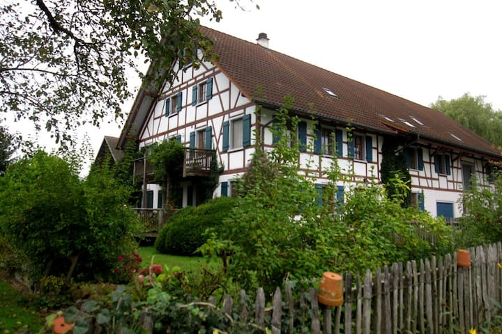 Ferienhof Halder, 90 m² Wohnung - Ebenweiler - Daire