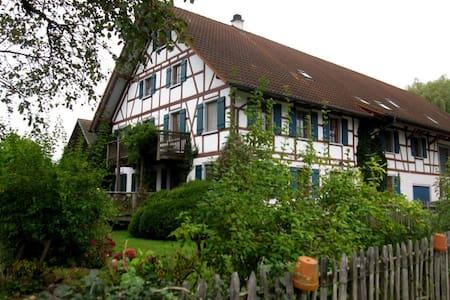 Ferienhof Halder, 90 m² Wohnung - Ebenweiler