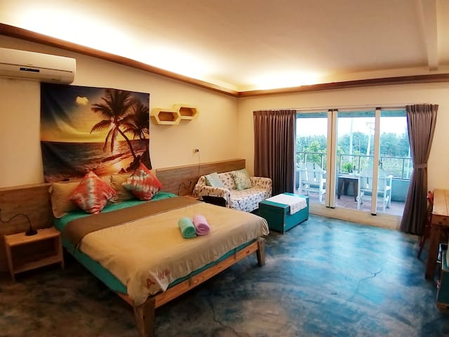 3F sea view room