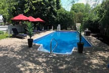 Pool is open from the end of May till mid September (weather dependent)