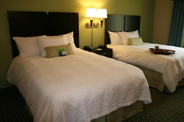 Functional Double Two Double Beds At Sevierville