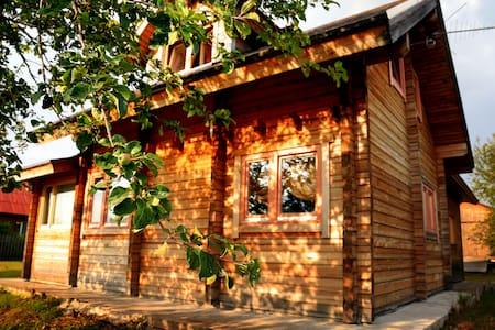 Дом в Карелии, на берегу реки Шуя
