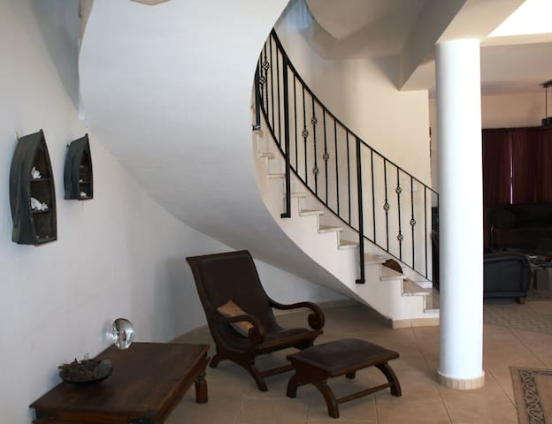 Marble Curved Staircase