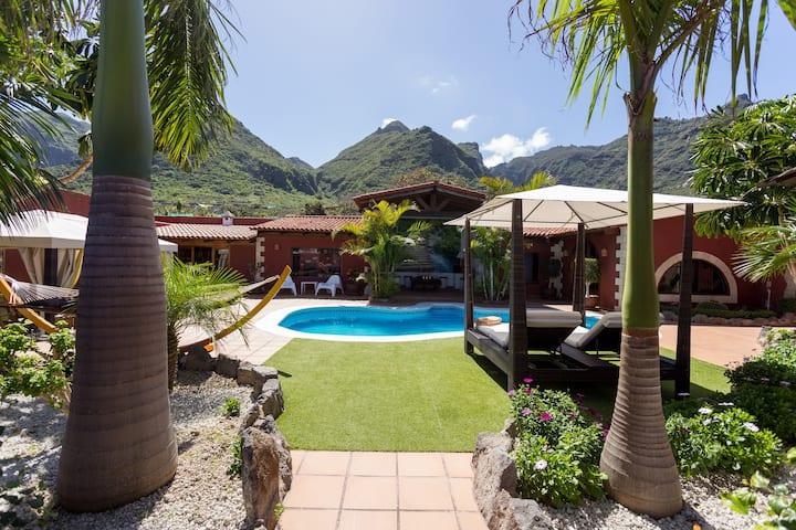 Villa Male, slow Life and Pleasure in Los Silos !!