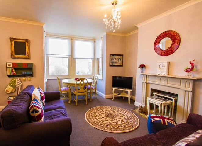 Alberts View-quirky 2 bed apartment by the sea - Ramsgate - Apartemen
