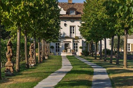 Villa San Marzano in Moscato Vineyards - San Marzano Oliveto