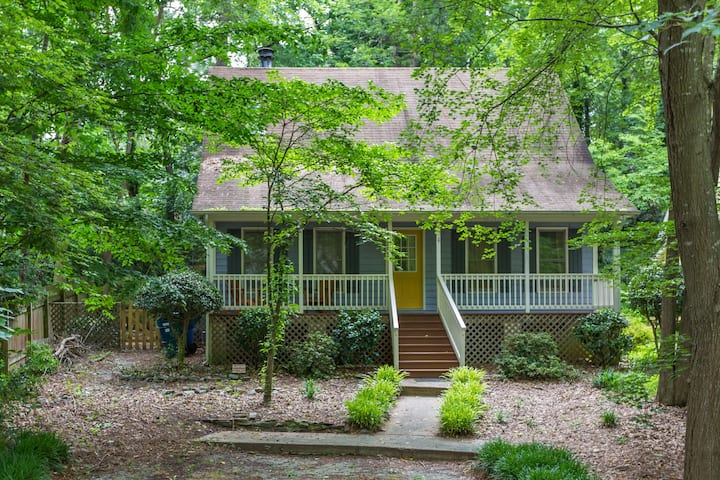 Wooded Oasis - Quick to Downtown/Chapel Hill/RDU