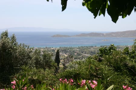 Romantic bungalow with sea view on Evia island