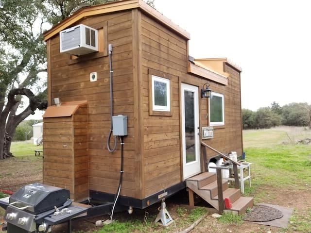 Texas Hill Country Tiny Cedar House
