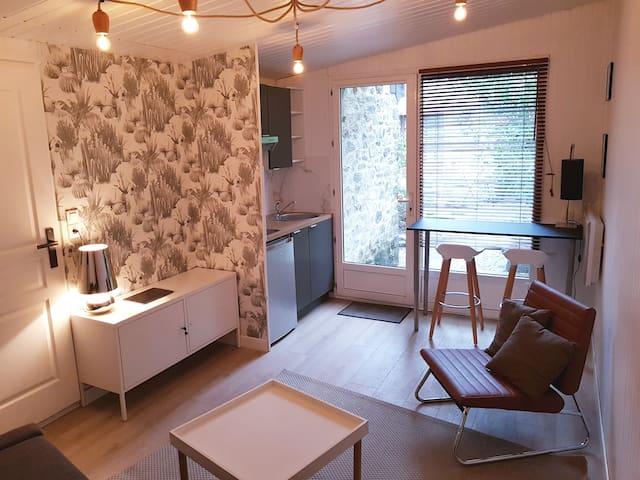 La pequeña casa - Apartamento con jardin