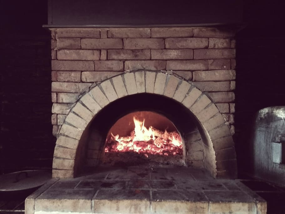 Wooden oven