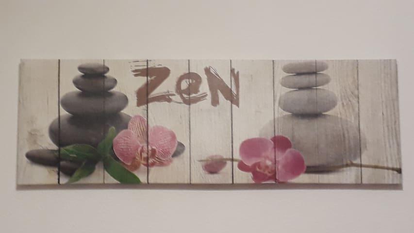 Chambre Zen à Claira