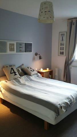 Chambre cosy dans écrin de verdure - Fourqueux - Maison