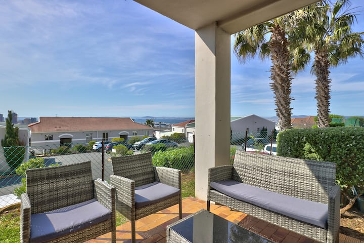 Stunning Views+ Patio + Pool & Parking