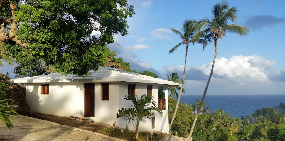 Hilltop Studio Bungalow with Sea View - Opening