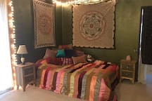 Queen bed #3 in shared space