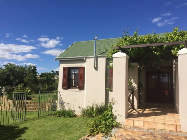 Private house in the wine lands near Stellenbosch