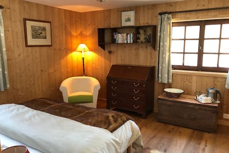 Les Carroz, Private Room in Chalet Sotre