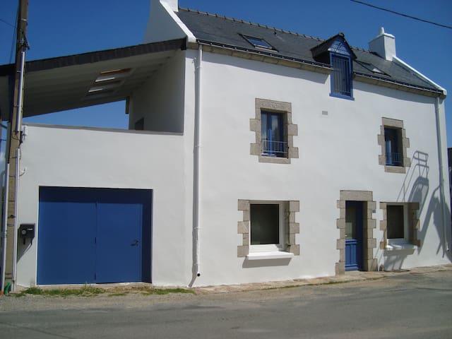 typique Maison de Pêcheur - Le Hézo, bord du golfe