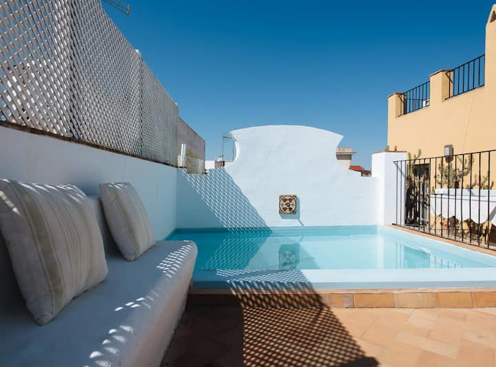 LUXURY SEVILLIAN HOUSE WITH  PRIVATE POOL