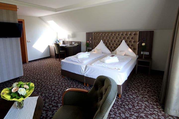 Doppelzimmer Bergblick