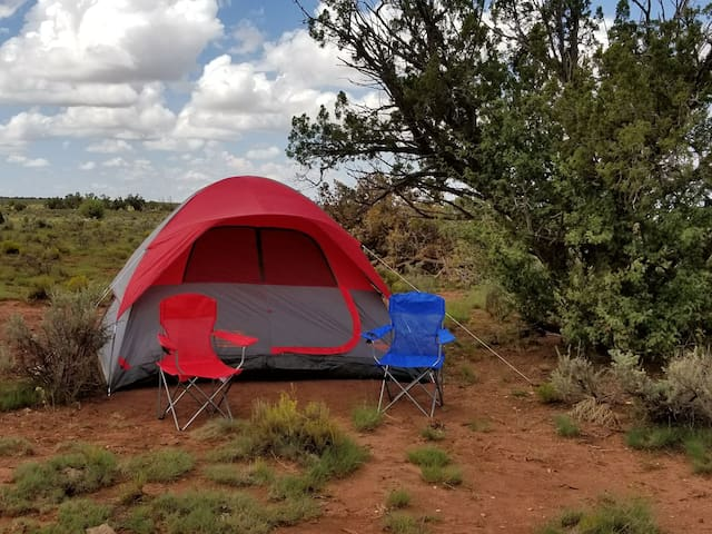Grand Canyon Camp #2  Tent, Bed & Real Breakfast!