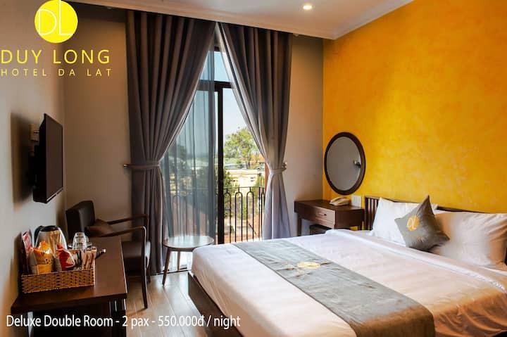 Duy Long Hotel - Deluxe Double Room 1