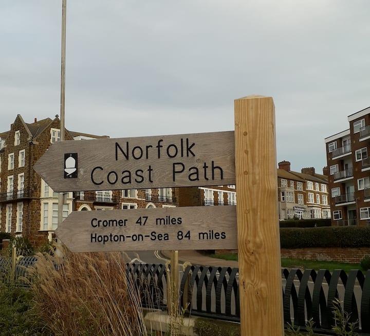 Norfolk Coastal Path.