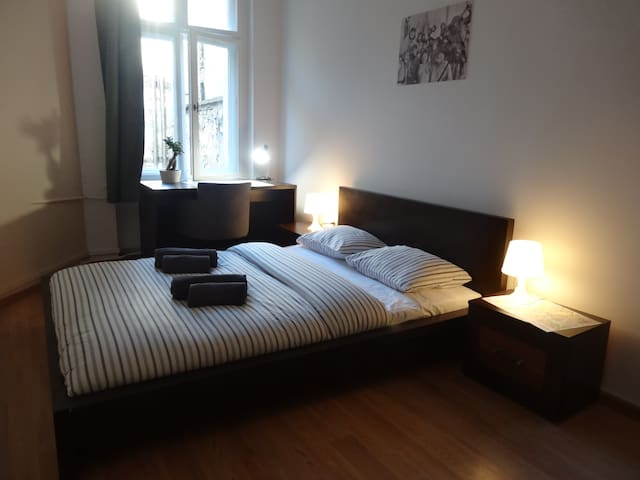 Comfy double room at the Old Town - Poznań - Leilighet