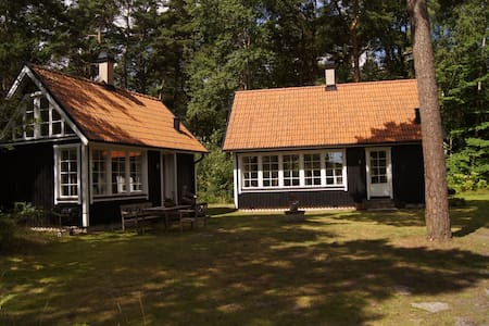 Open plan cottage 70 m², just 100 m from the beach