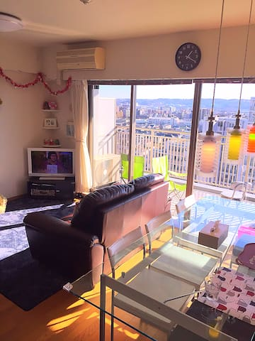 Quite Lovely place with great view,friendly family - Fuchu - Apartment