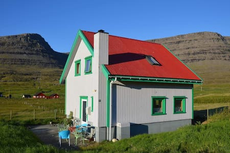4 bedrooms house on Svínoy island.