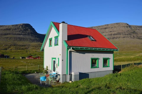 4 bedrooms house on Svínoy island.