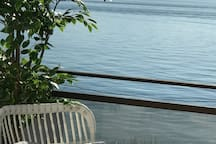 Enjoy the sun from the large master bedrom balcony which overlooks the lake.
