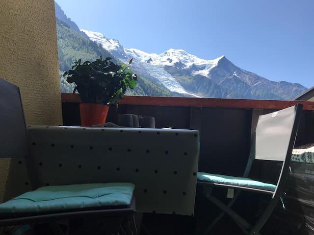 Studio aux pieds du mont Blanc