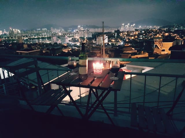 3best rooftop in Seoul(7min from itaewon station) - Yongsan-gu - Casa