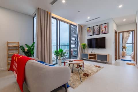 Hoang Anh Apartment 5☆(82m2 & 3 beds-Swimming pol)