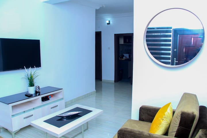 Classic, Modern and Homely Lagos Mainland Getaway
