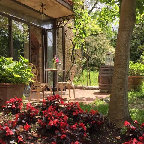 Garden Junior Suite patio
