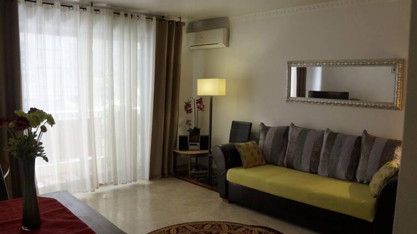 Уютная однокомнатная квартира 43 кв в центре Ниццы - Nizza - Wohnung