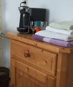 Doppelzimmer mit separatem Badezimmer/ Dusche - Vaz/Obervaz - Andre