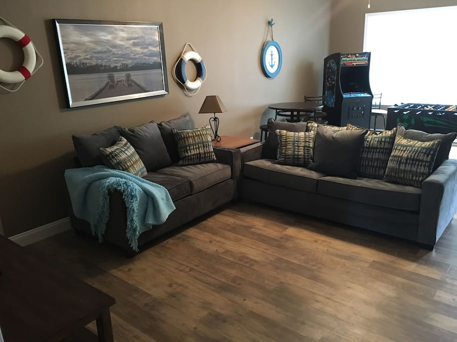 New furniture and floors in 2018
