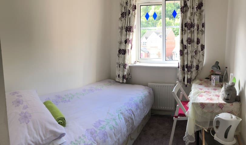 Friendly Family Home Single Bed Room Free Parking