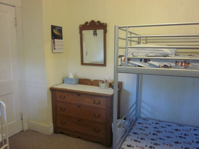 Bunk beds for smaller members of the family