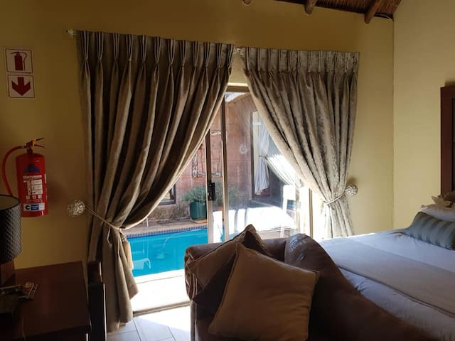 Pool Room 1 available in established guest house