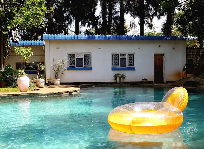 Garden cottage with swimming pool - Harare - Bungalow