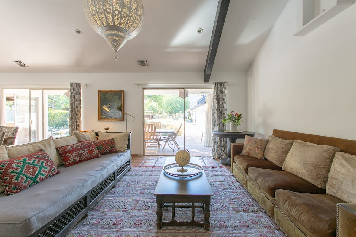 Rivergate House; an Elegant Equestrian Oasis Hollywood